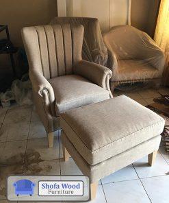 Single Chair Plus Stool
