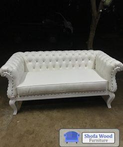 Sofa Mini Chesterfield Putih
