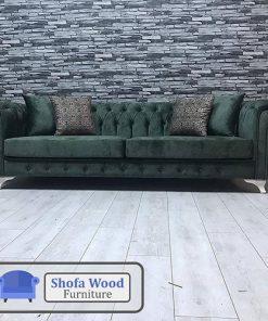 Sofa Chesterfield Dark Green
