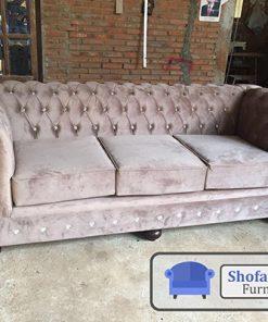 Sofa Ruang Tamu Mewah Coklat