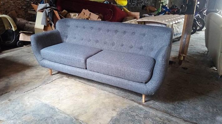 Sofa Retro Scandinavian Abu