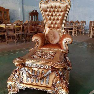 Kursi Princes dan Meja Ukir Mewah
