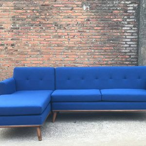 Set Sofa Tamu L Blue Scandinavian